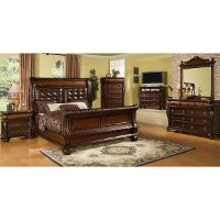 highland 6 piece queen bedroom set rc willey furniture store