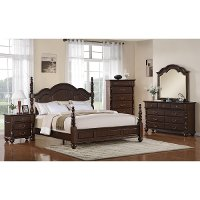 georgia 6 piece king bedroom set rc willey furniture store