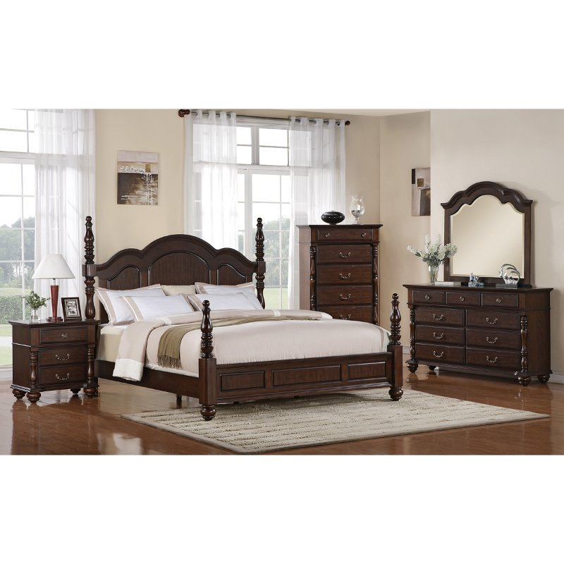 Georgia 6 piece king bedroom set rcwilley image1800jpg for Bedroom furniture sets tyler tx