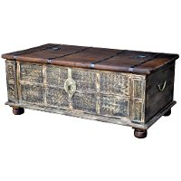 Vintage Lift Top Coffee Table Trunk Rc Willey Furniture Store