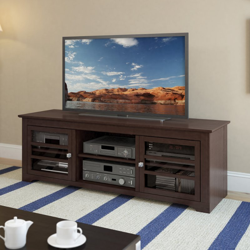 Brown Simple 60 Inch Tv Stand West Lake Rc Willey Furniture Store