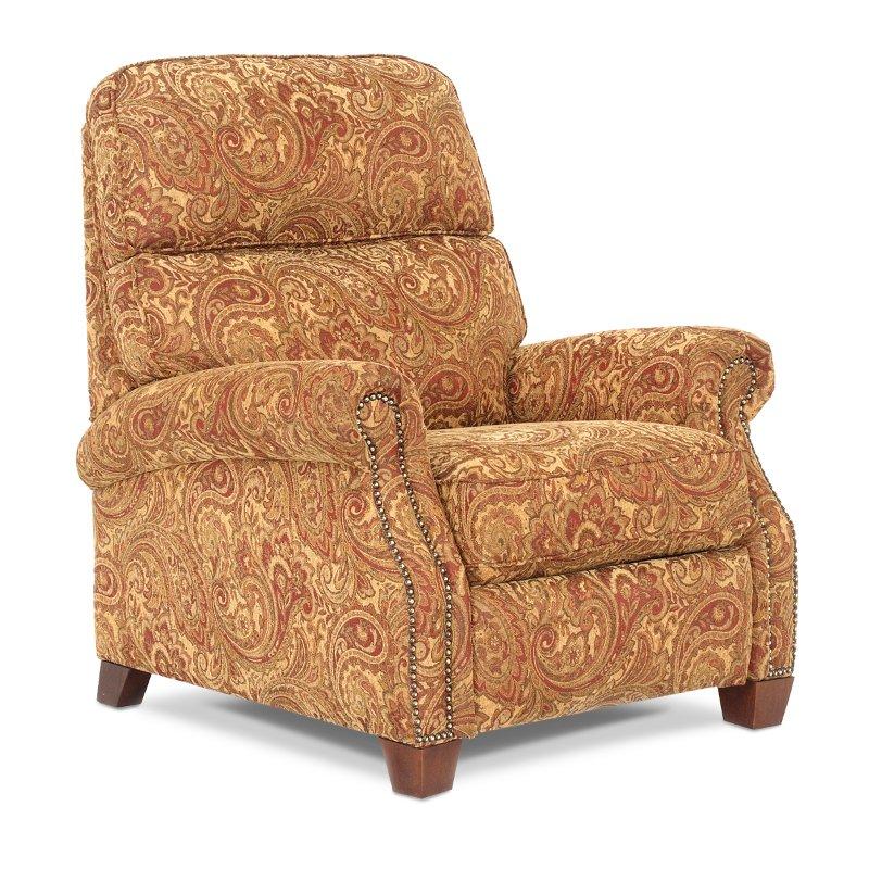 35 Pattern Upholstered Recliner