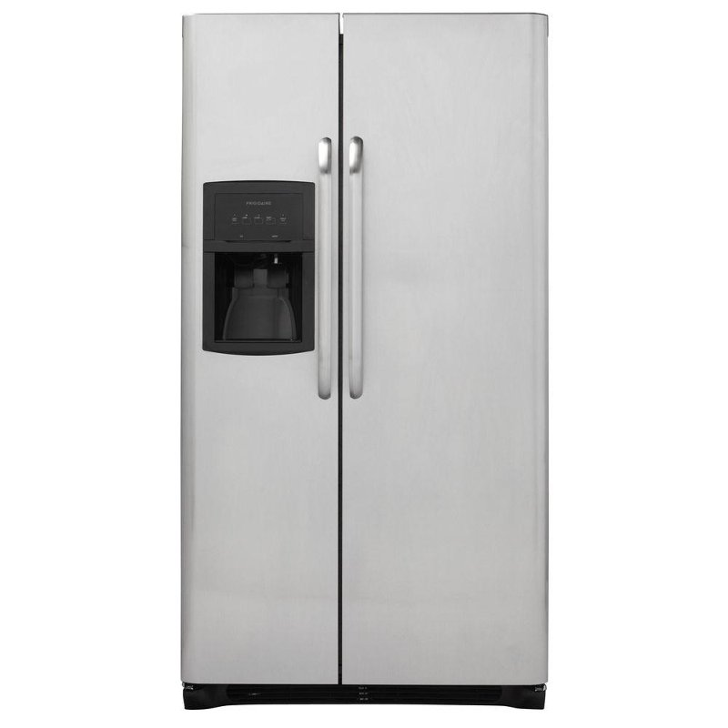 Frigidaire 36 Quot Stainless Steel 26 Cu Ft Side By Side