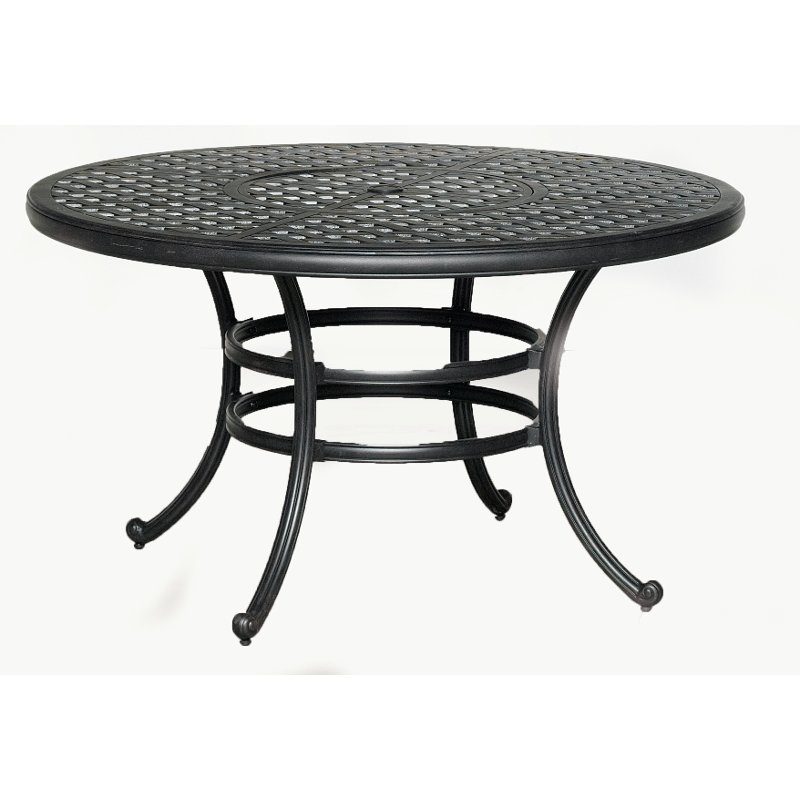 54 Inch Outdoor Patio Dining Table Moab Rc Willey Furniture Store