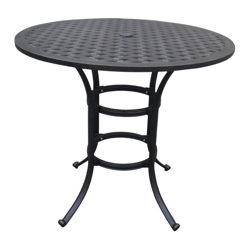 42 Inch Round Outdoor Counter Height Patio Table Moab
