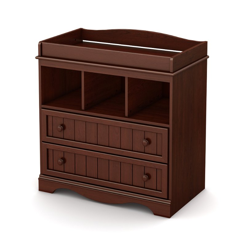 Espresso Changing Table - Savannah | RC Willey Furniture Store