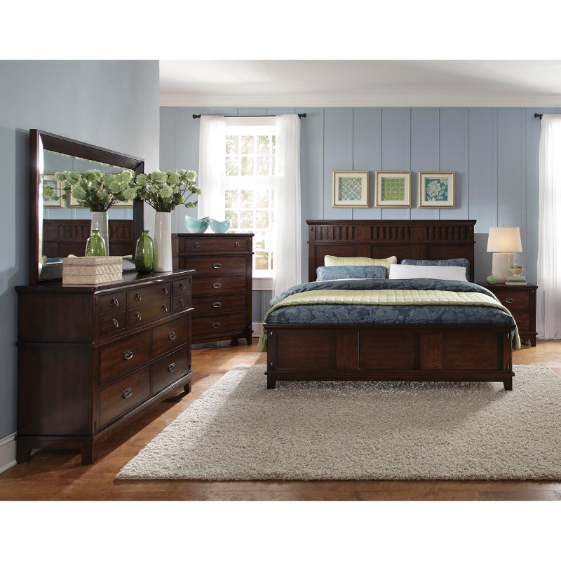sonoma 6 piece queen bedroom set