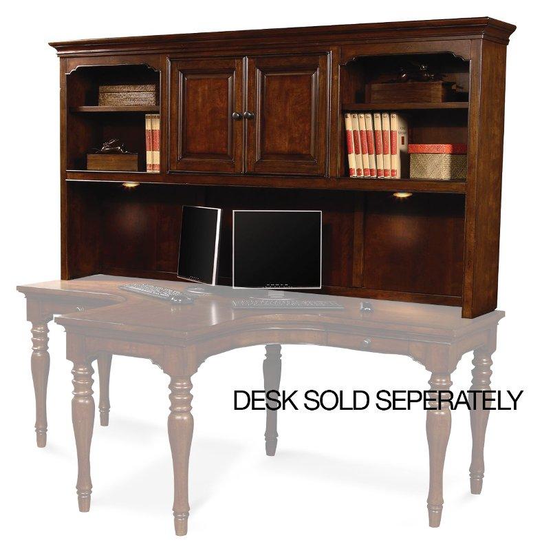 E2 Furniture Dual Desk Hutch