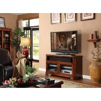 48 Inch Toffee Brown TV Stand - Tuscana
