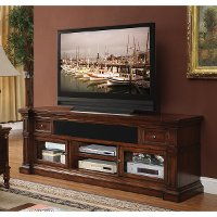 76 Inch Umber Brown TV Stand - Berkshire
