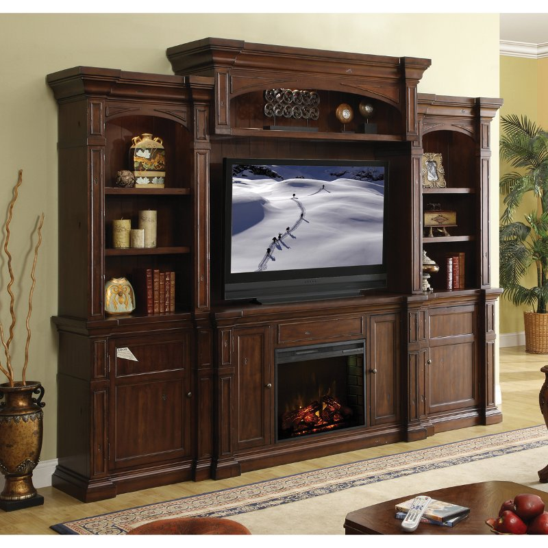 Berkshire Fireplace Entertainment Wall