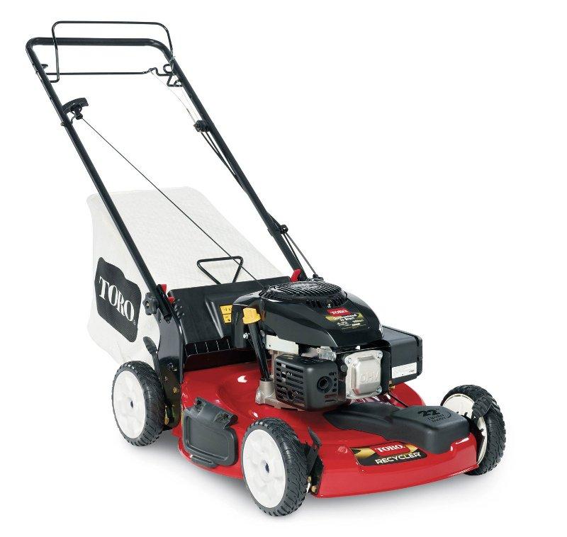 """Self Propelled Cart >> Toro 22"""" Kohler Low Wheel Self-Propelled Lawn Mower"""