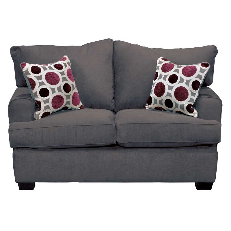 City 60 Sterling Upholstered Loveseat