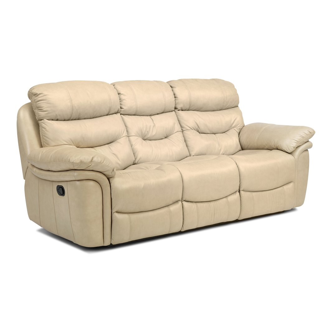 westport 88 taupe leather match reclining sofa. Black Bedroom Furniture Sets. Home Design Ideas