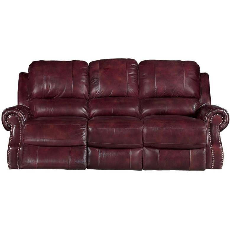 Madison 91 burgundy leather match reclining sofa Burgundy leather loveseat