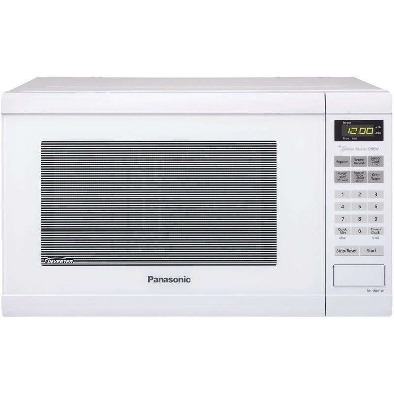 Panasonic 1 2 Cu Ft Microwave Oven With Inverter