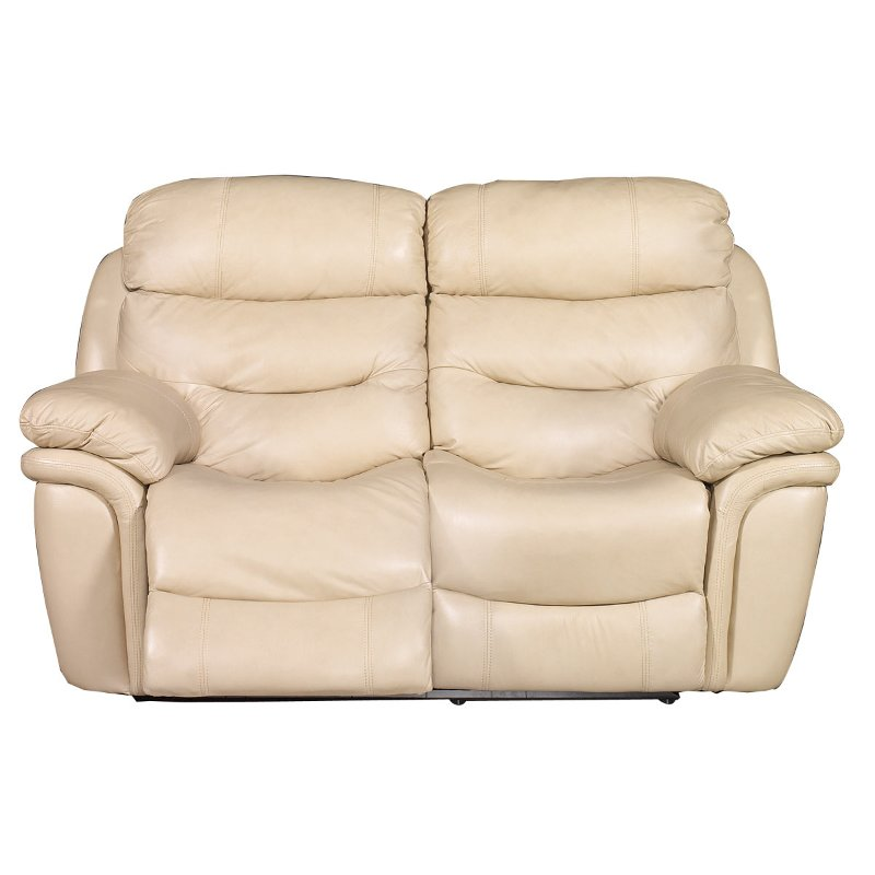 Westport 81 Taupe Leather Match Power Reclining Loveseat