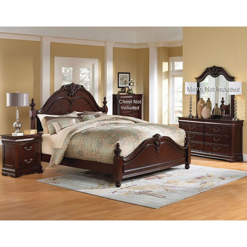 Westchester 6 piece queen bedroom set - Bedroom furniture image ...