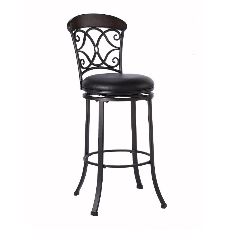 trevelian black 26 inch counter height stool rc willey furniture store. Black Bedroom Furniture Sets. Home Design Ideas
