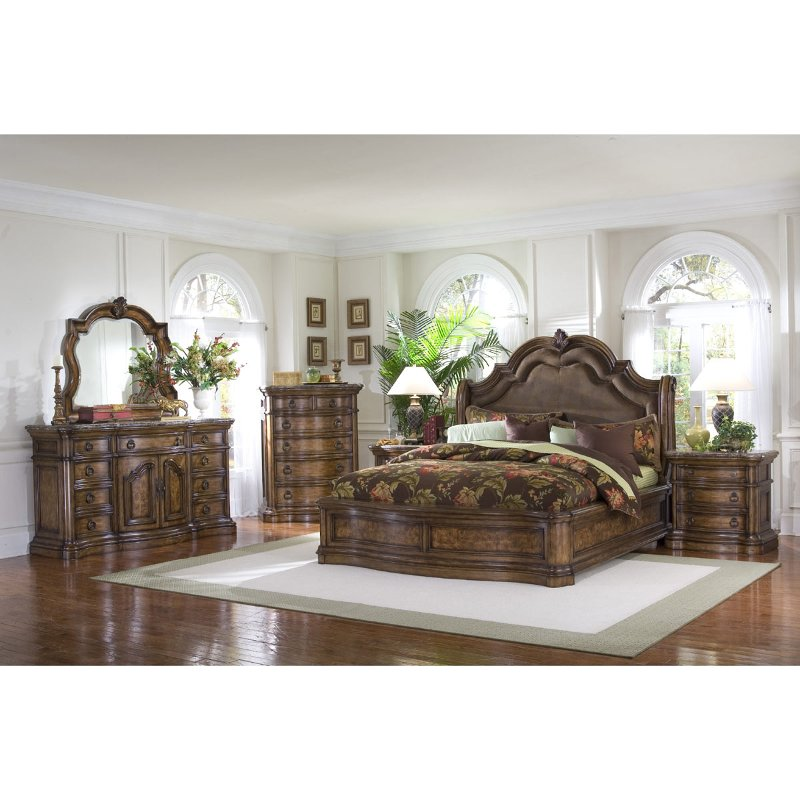 san mateo 6 piece cal king bedroom set