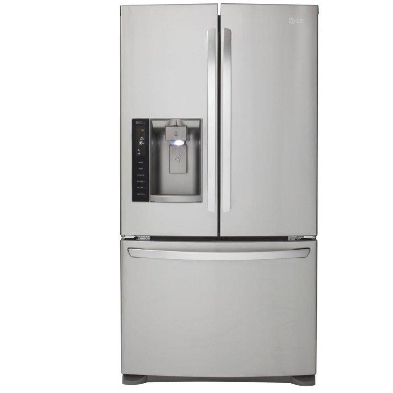 lg 28 cu ft 36 french door refrigerator. Black Bedroom Furniture Sets. Home Design Ideas