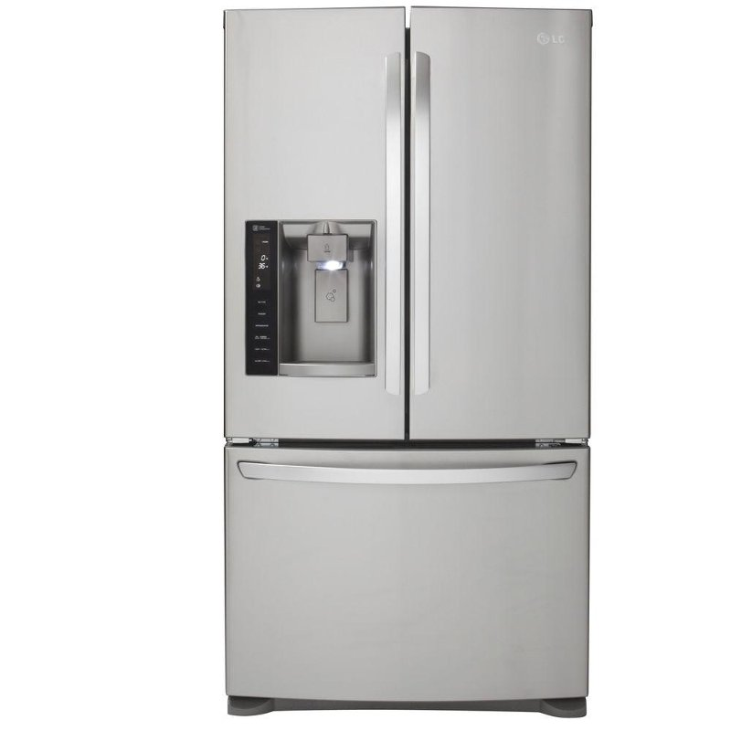 Lg 36 Inch Stainless Steel 26 8 Cu Ft French Door