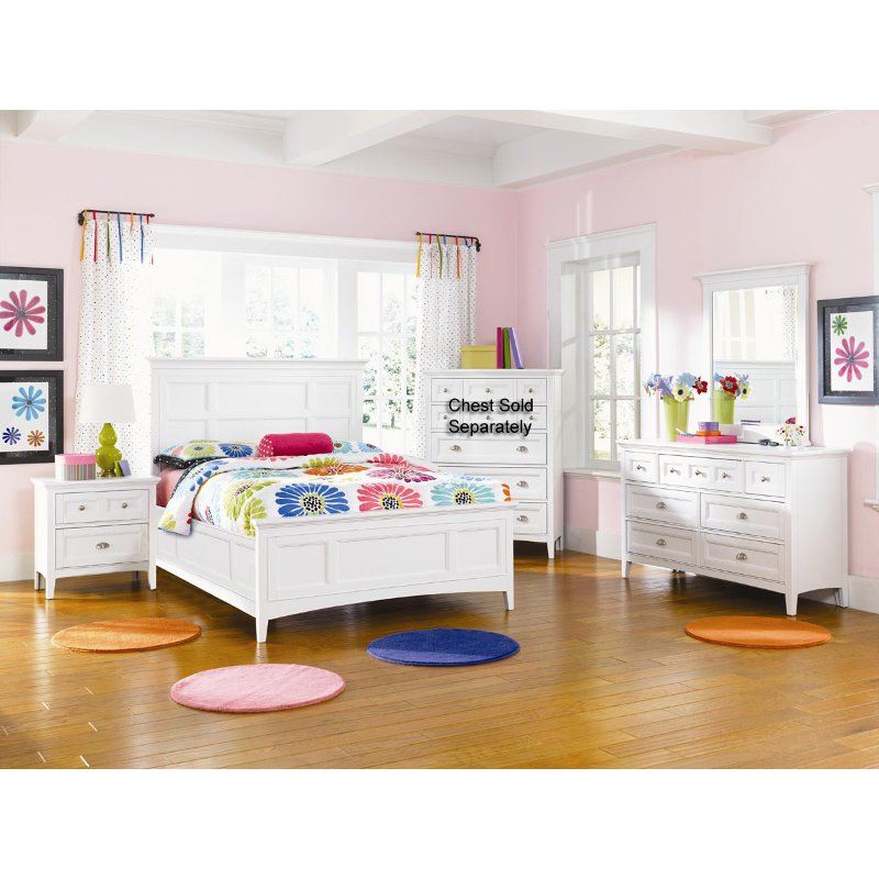 kenley magnussen 6 piece twin bedroom set