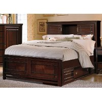 Palasides Rivers Edge Queen Storage Bed Rc Willey Furniture Store