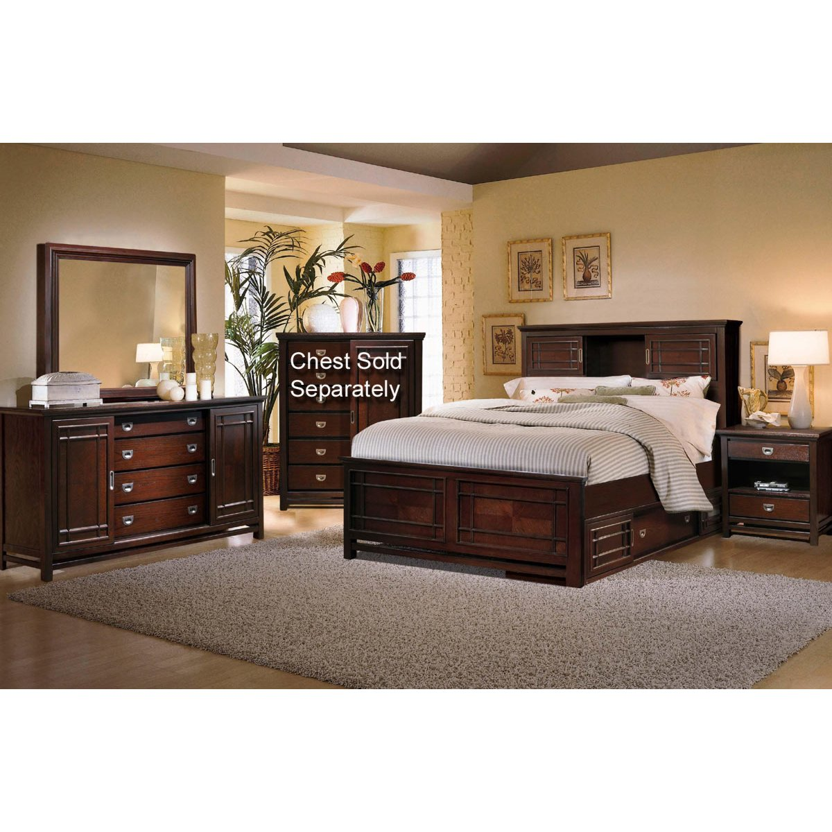 Palasides Rivers Edge 7 Piece Queen Bedroom Set Rc