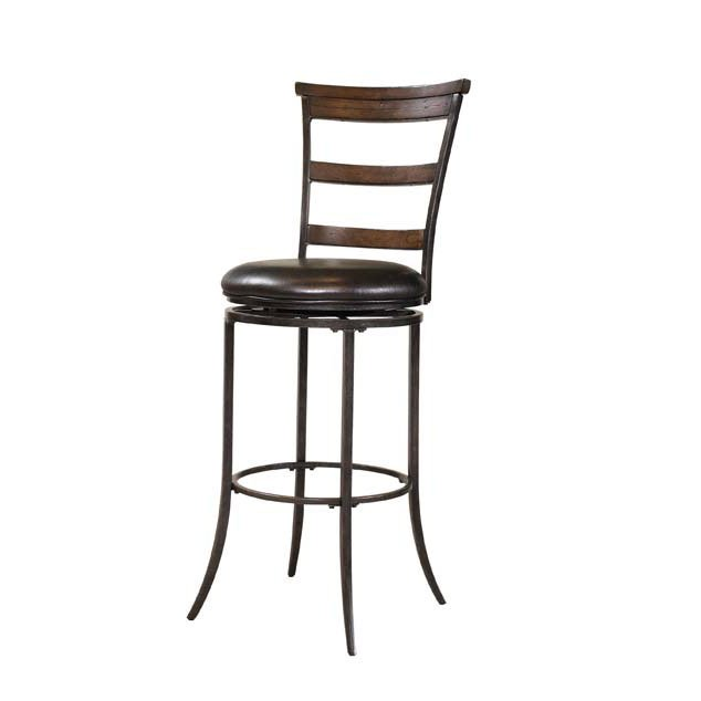 Chestnut Ladder Back 26 Inch Counter Stool Cameron Rc Willey