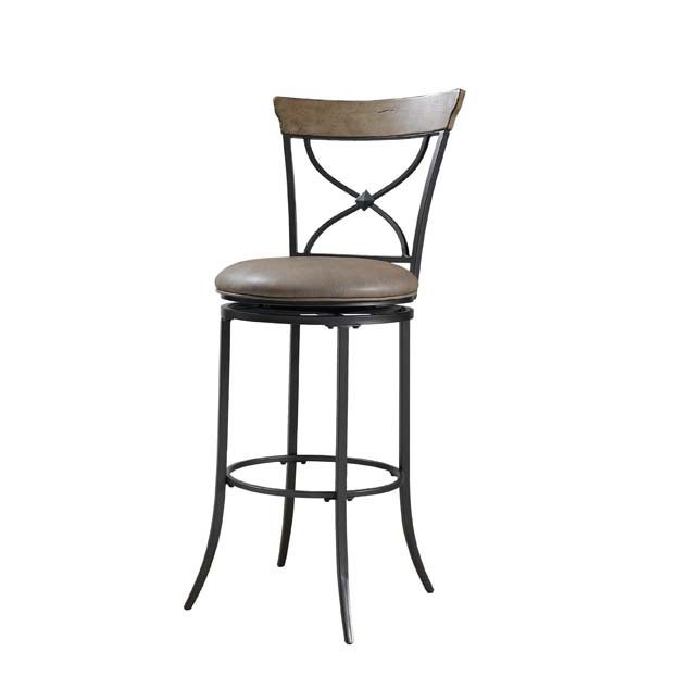 Desert Tan X Back 26 Inch Counter Stool Charleston Rc Willey