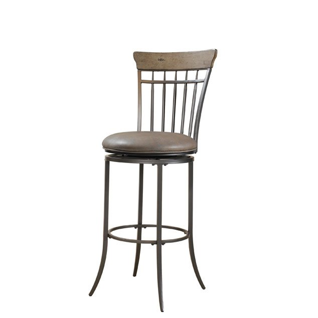 Desert Tan Spindle Back 30 Inch Bar Stool Charleston Rc Willey