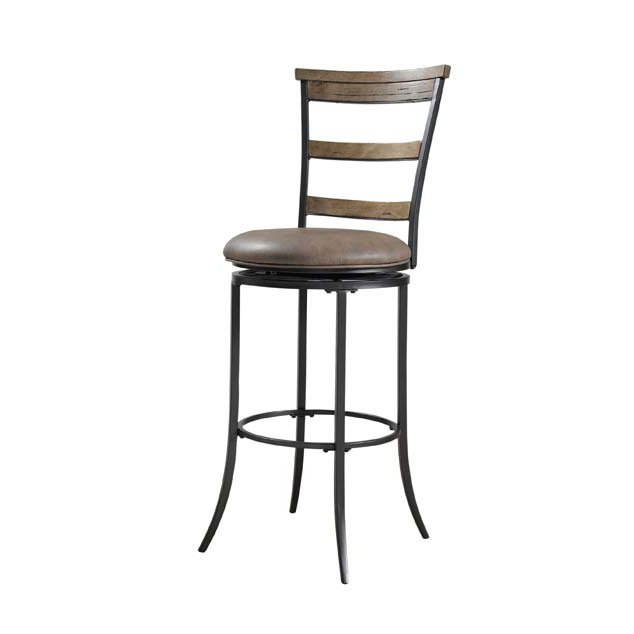 Desert Tan Ladder Back 30 Inch Bar Stool Charleston Rc Willey
