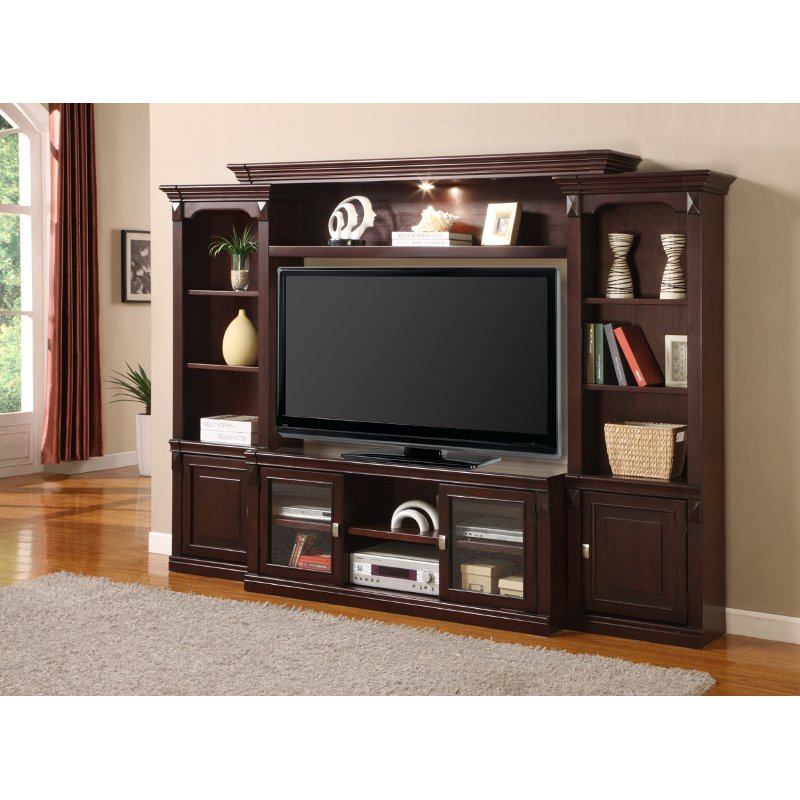Auburn Entertainment Wall Unit