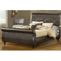 Fremont Brown Upholstered Queen Bed Rc Willey Furniture Store