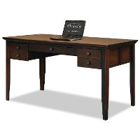 Brentwood legends writing desk rc willey furniture store - Clearance home office furniture ...