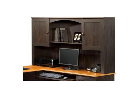 Harbor View Sauder Desk With Hutch Rc Willey Furniture Store
