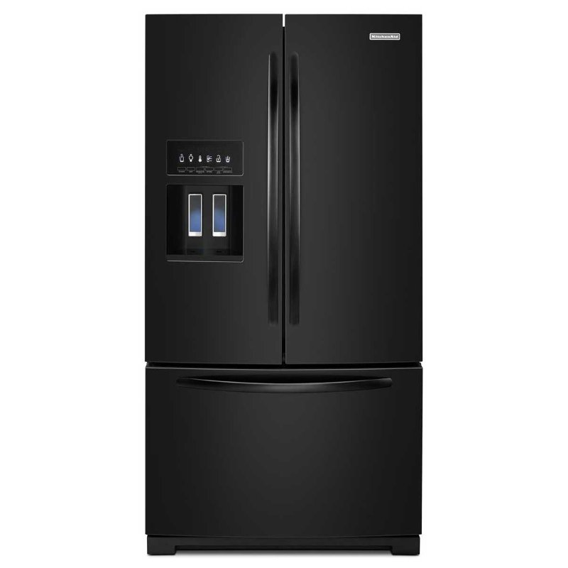Kitchenaid 29 cu ft 36 french door refrigerator for 29 in french