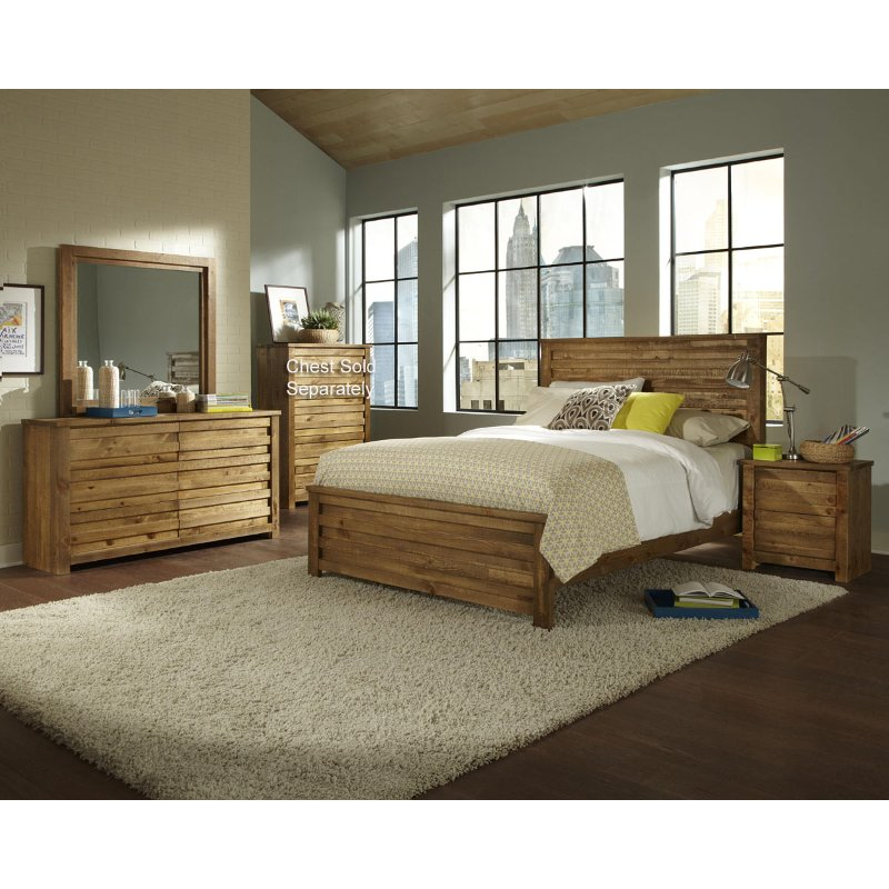 Bedroom Sets Furniture Stores: Melrose 6 Piece King Bedroom Set