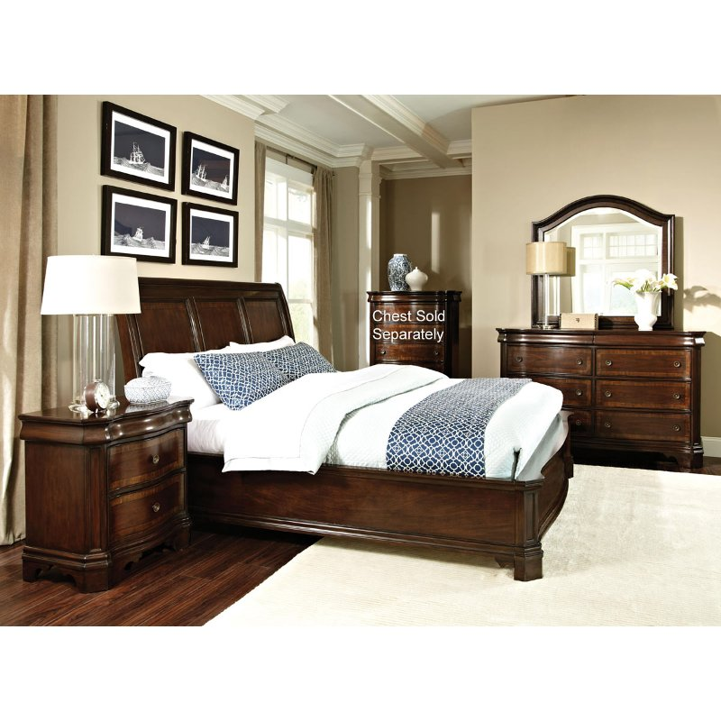 St James International Furniture 6 Piece King Bedroom Set