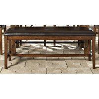 Brandy Dining Bench - Santa Clara Collection