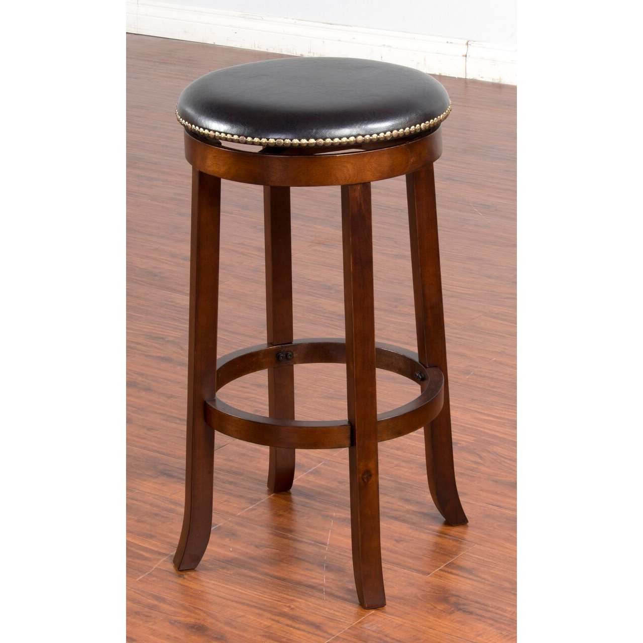 Swivel Bar Stool 30 Inch Cappuccino Rc Willey Furniture Store