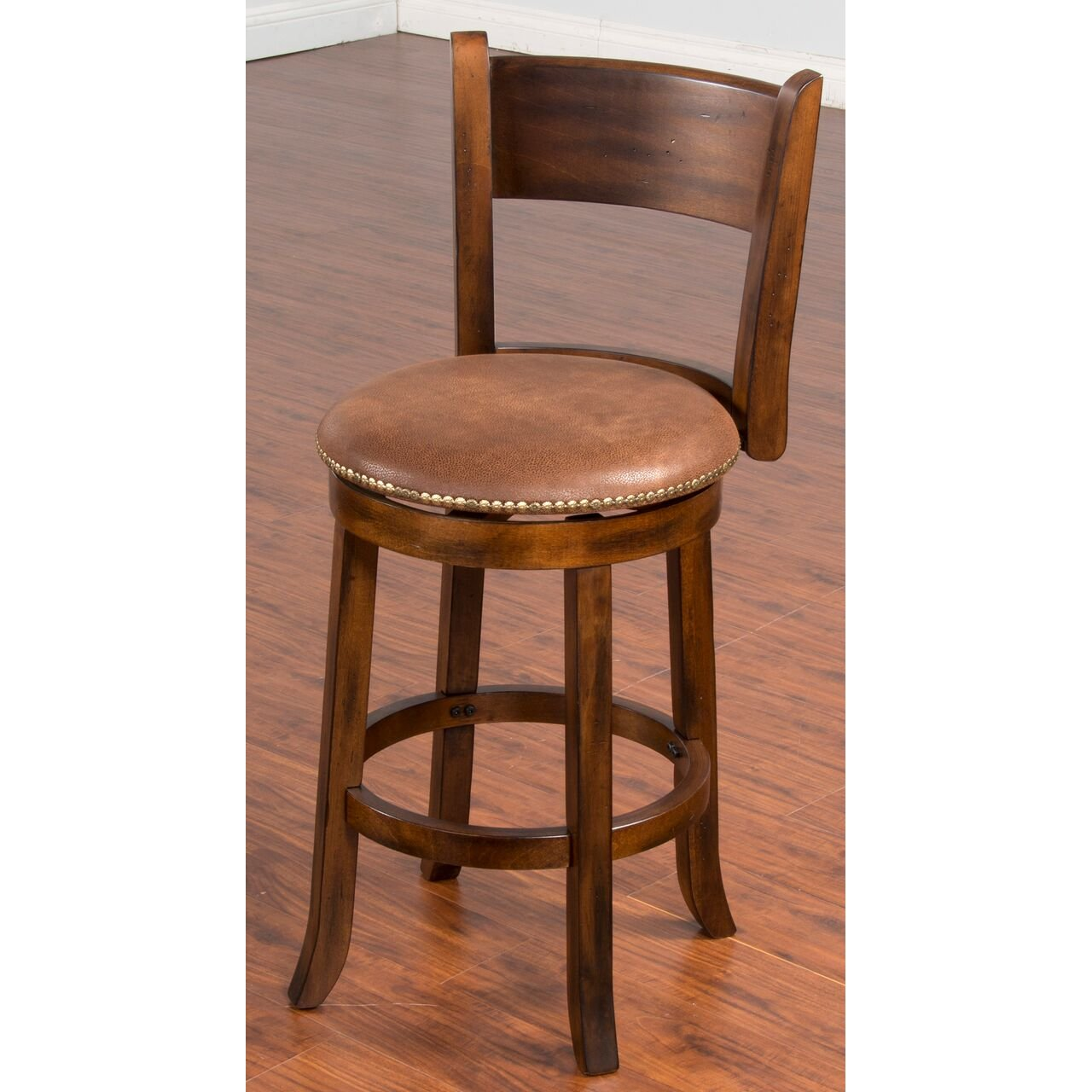 Swivel Counter Height Stool 24 Inch Santa Fe Rc Willey