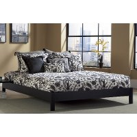 Murray Black Twin Platform Bed Rc Willey Furniture Store