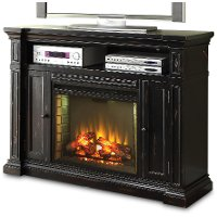 Manchester Black Media Fireplace Rc Willey Furniture Store