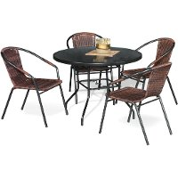Napoli 5 Piece Dining Set Rc Willey Furniture Store