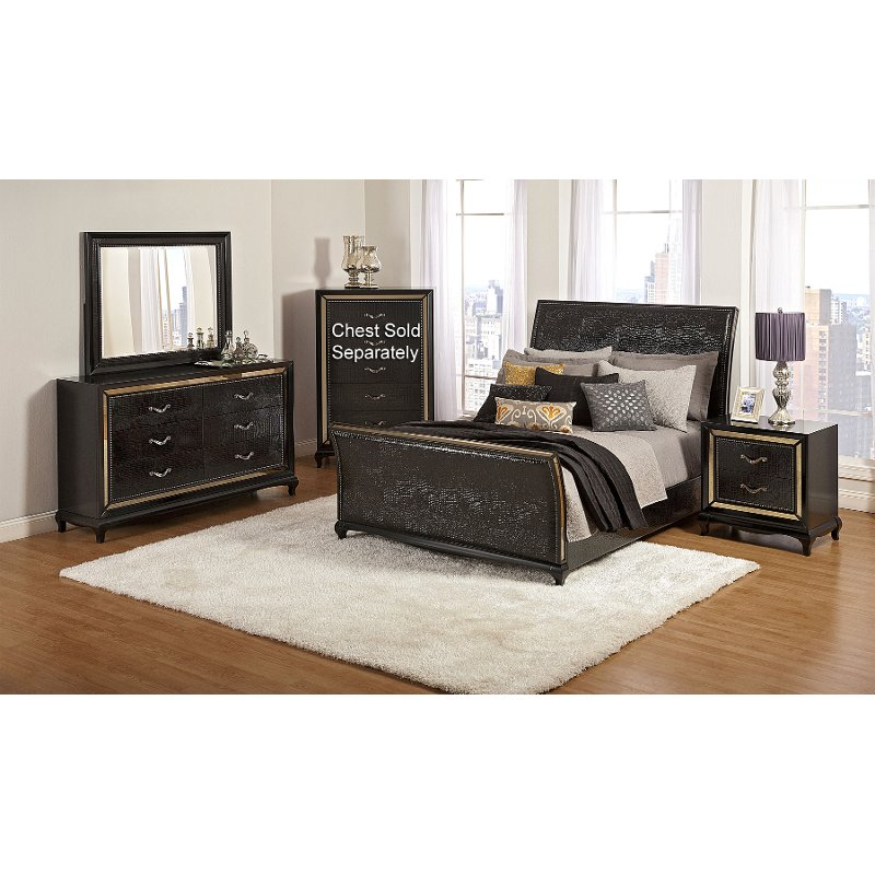 Ibiza 6 piece queen bedroom set rcwilley image1 for Queen bedroom furniture sets