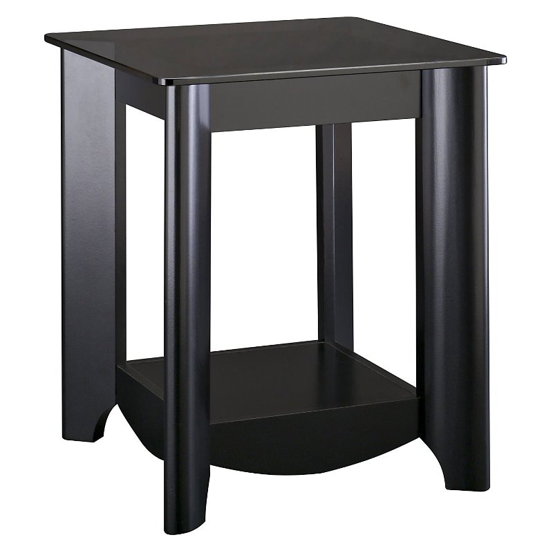 Black End Tables (Set of 2) - Aero   RC Willey Furniture Store