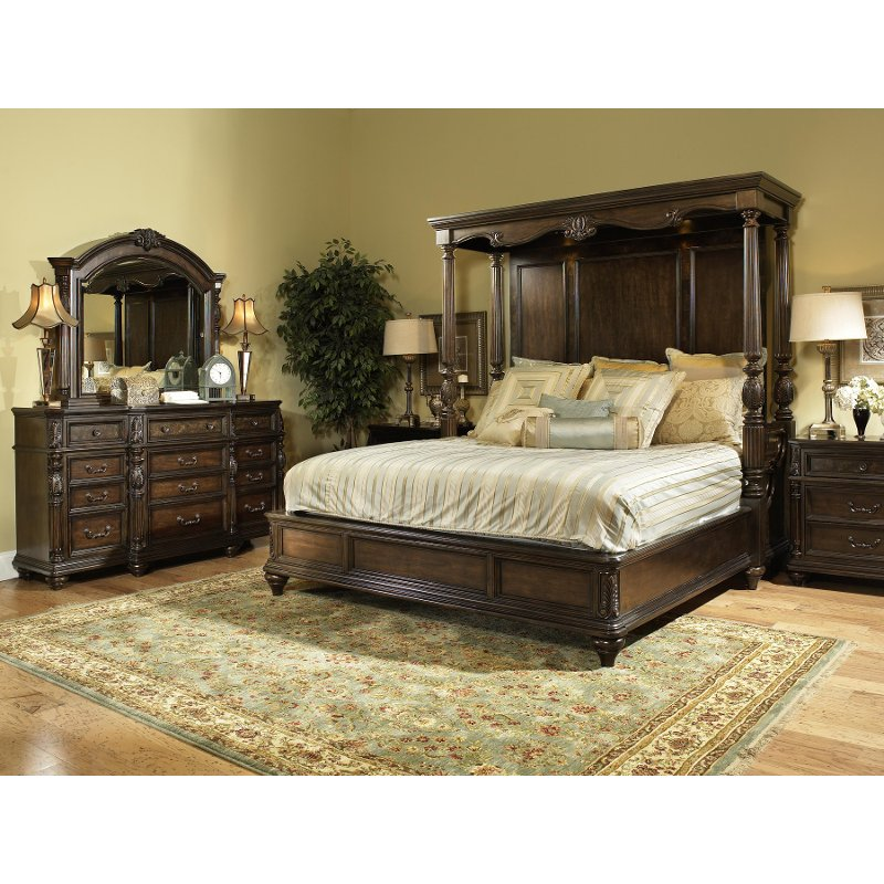 Chateau Marmont Fairmont 7 Piece Cal King Bedroom Set