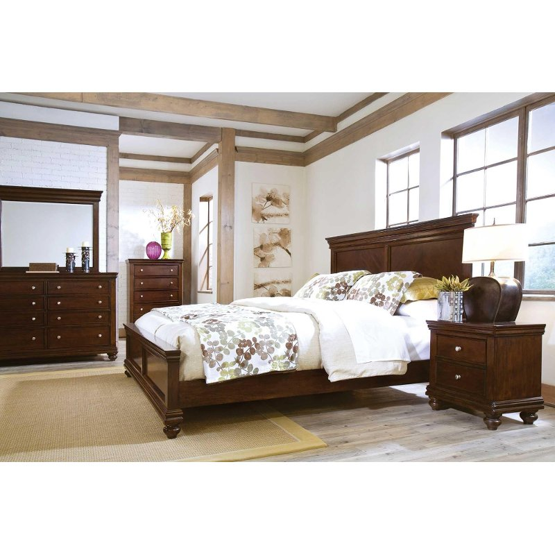essex 6 piece queen bedroom set